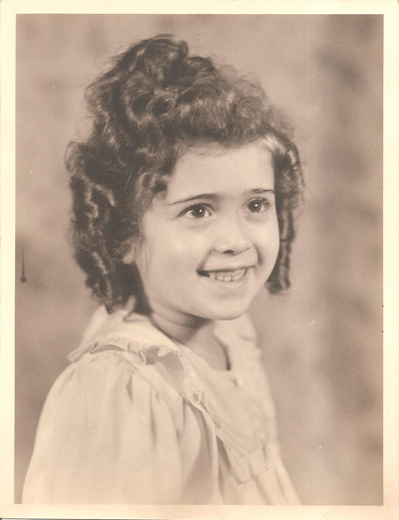 Rosemary Capello as little girl!